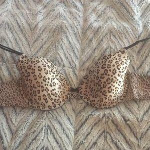 VS cheetah print bra